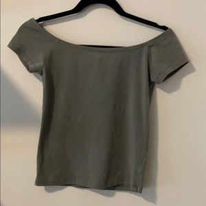 Off The Shoulder Short Sleeve Top by Express